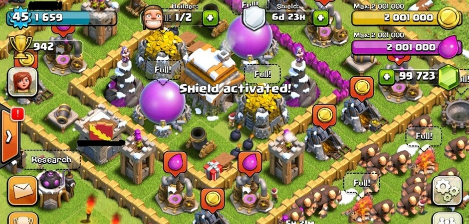 Download Clash of Clans Mod Apk December 2016 Unlimited Resources