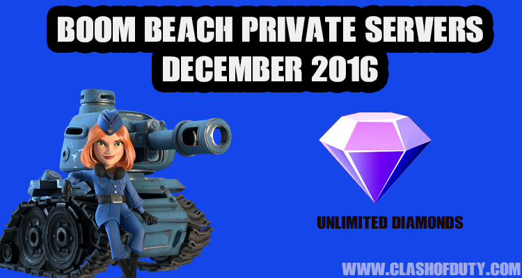 Boom Beach Private Server