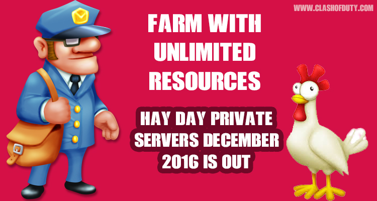 Hay Day Private Server December 2016 (Android & IOS) 100 %