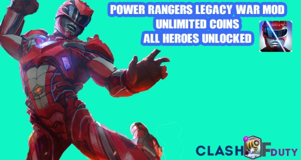 Download Power Rangers Legacy Wars Mod APK &iOS (Heros Unlocked)