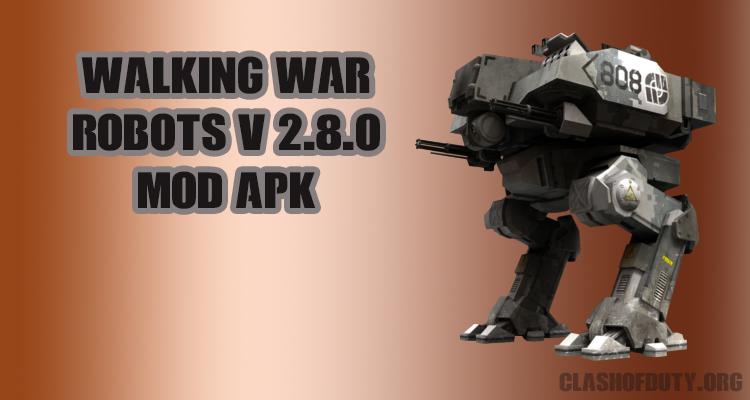 Walking War Robots V 2.8.0 Mod APK