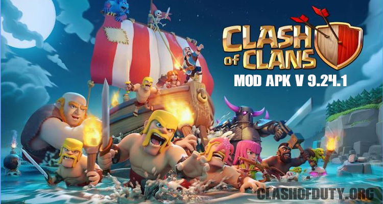Download Clash of Clans v 9 24 1 Mod Apk (Android & iOS)