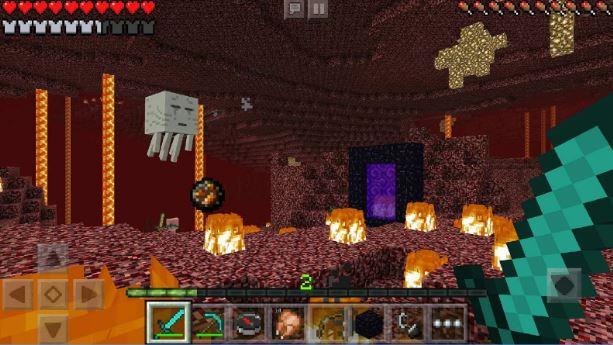 Minecraft Pocket Edition v 1.1.0.55 Mod Apk (Premium Skins Mod)