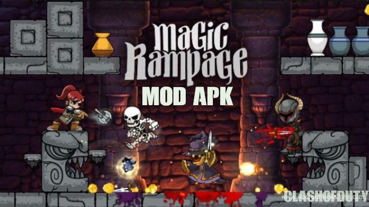 Magic Rampage v 2.4.7 Mod Apk