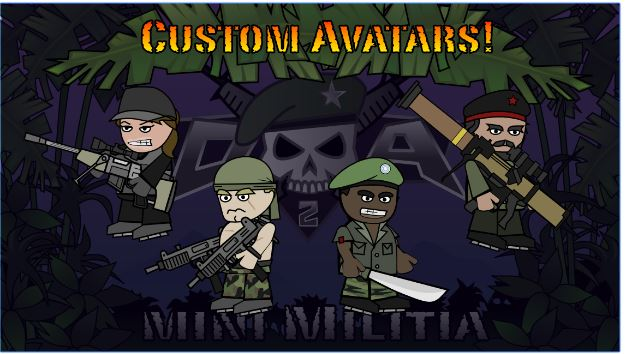 Download Doodle Army 2 Mini Militia v 3.0.136 Mod Apk (Health UL) (2)