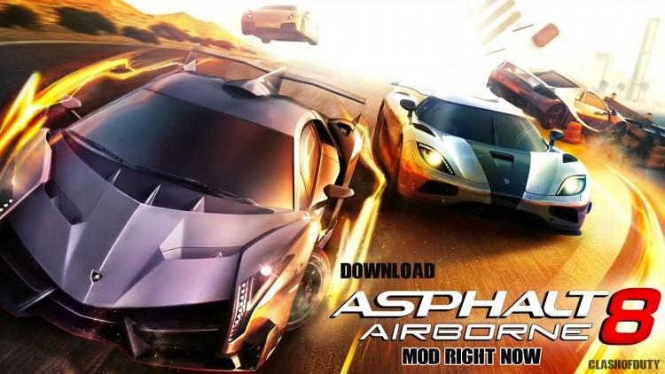 Asphalt 8 Airborne v 3.1.1c Mod Apk Android All Unlocked