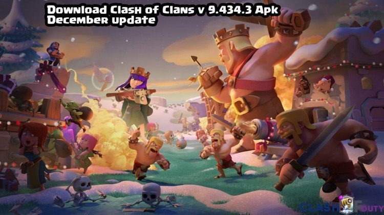 Clash of Clans v 9.434.3 Apk