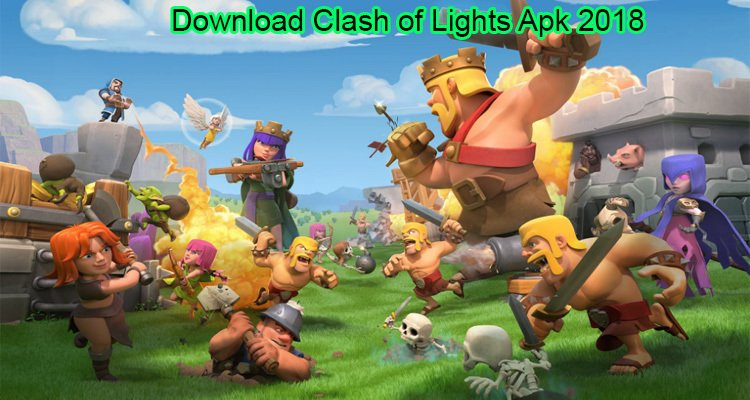Download Clash of Lights APK 2018   Unlimited Gems, Gold, Elixir   85 MB