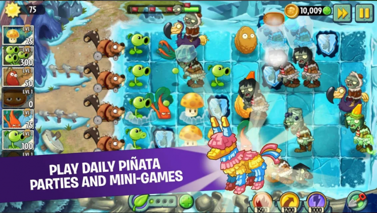 Download Plants vs Zombies 2 Mod Apk v 6.8.1(free diamonds)