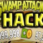 Get Swamp Attack Mod Apk 2018 ✅ v 3.0.1 [Unlimited Coins & Potions]