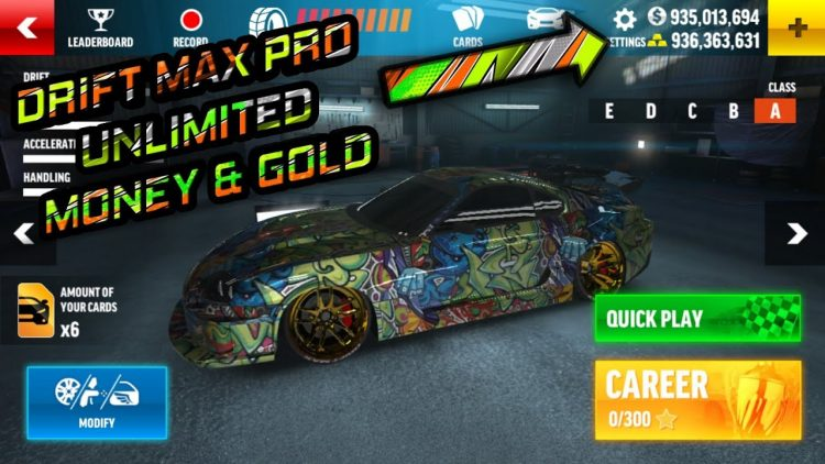 Drift Max Pro Mod Apk 2018 V 1 4 1 All Cars Unlimited Money