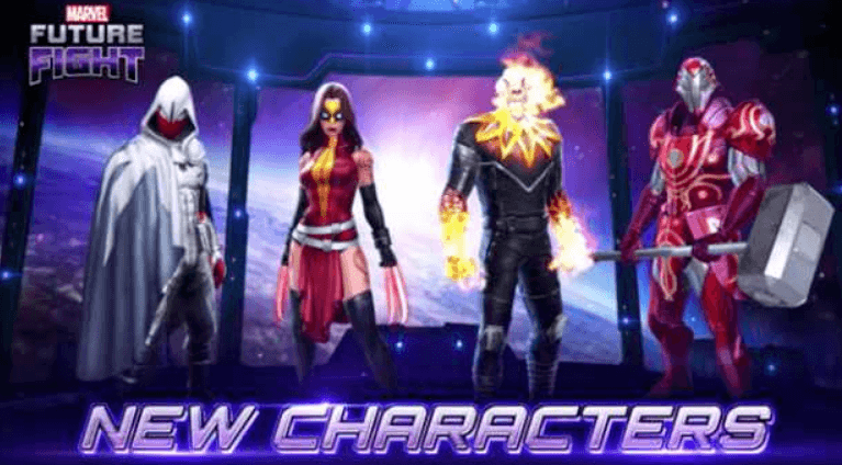 Marvel Future Fights New Characters