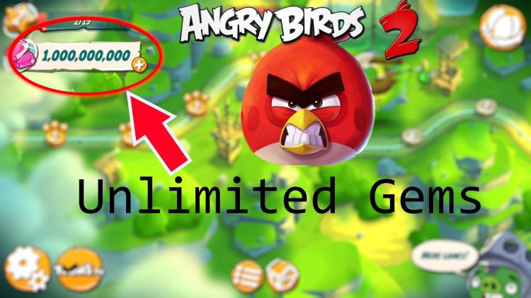 Download Angry Birds 2 Mod Apk v 2.21.1 [Unlimited Gems]