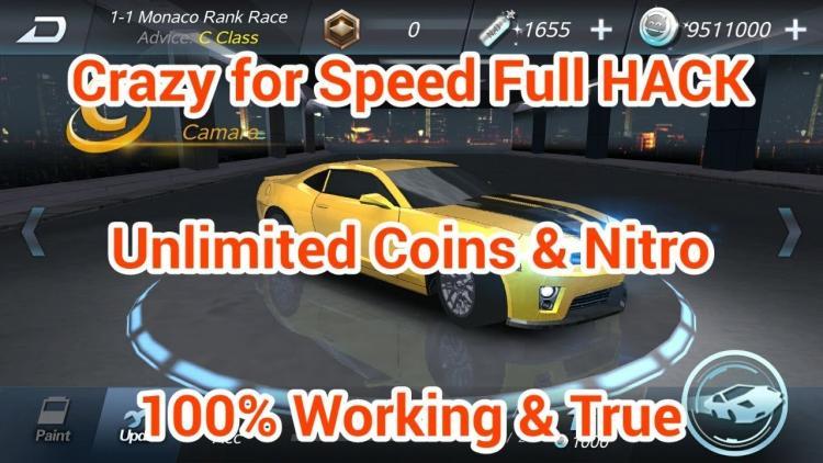 Download Crazy for Speed Mod Apk v 3.6.3181 [Unlimited Money]✅