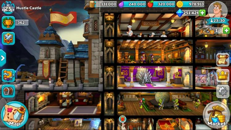 Download Hustle Castle Mod Apk v 1.5.4 [Unlimited Money/ Diamond]