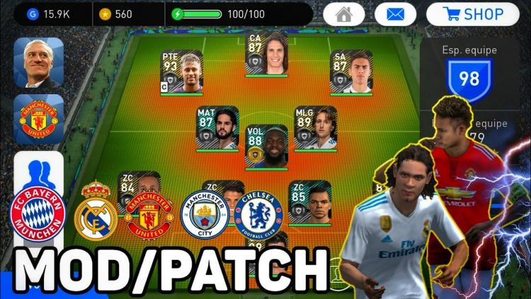 Download PES 2018 Mod Apk v 2.3.2 [unlimited money]✅