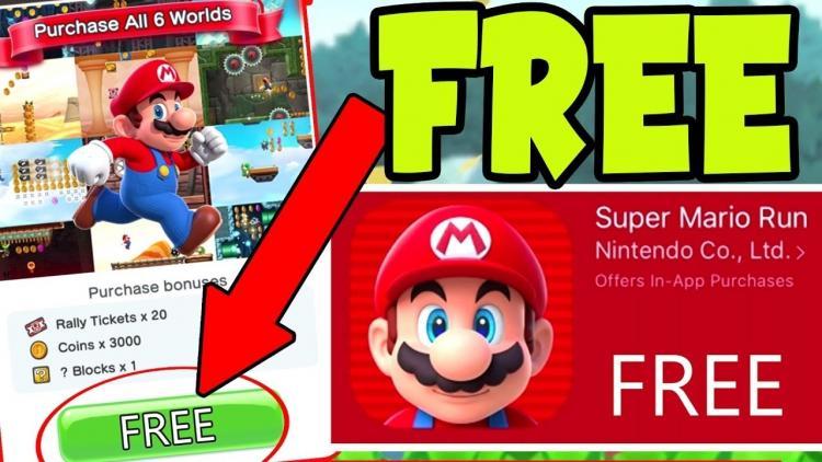 Download Super Mario Run Mod Apk v 3.0.11 Mod (lots of money)