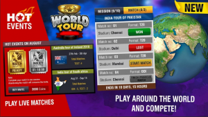 Download World Cricket Championship 2 Mod Apk