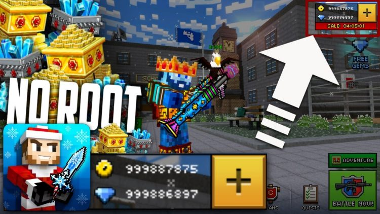 Download Pixel Gun 3D Mod Apk v 15.1.0 (lots of money)