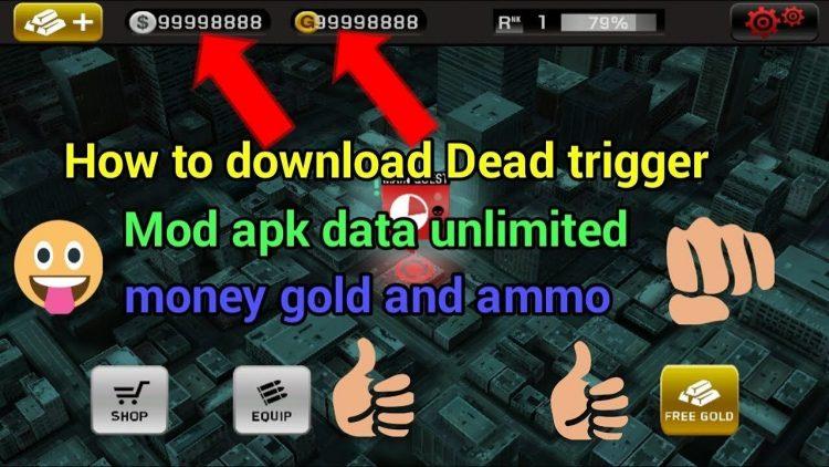 Download Dead Trigger Mod Apk v 1.9.5 [Unlimited Money / Coins]