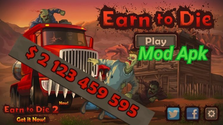 Download Earn to Die 2 Mod Apk v 1.3 [Unlimited money]