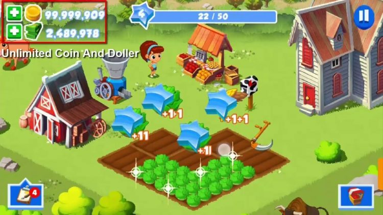 Download Green Farm 3 Mod Apk v 4.1.3 [Unlimited money]