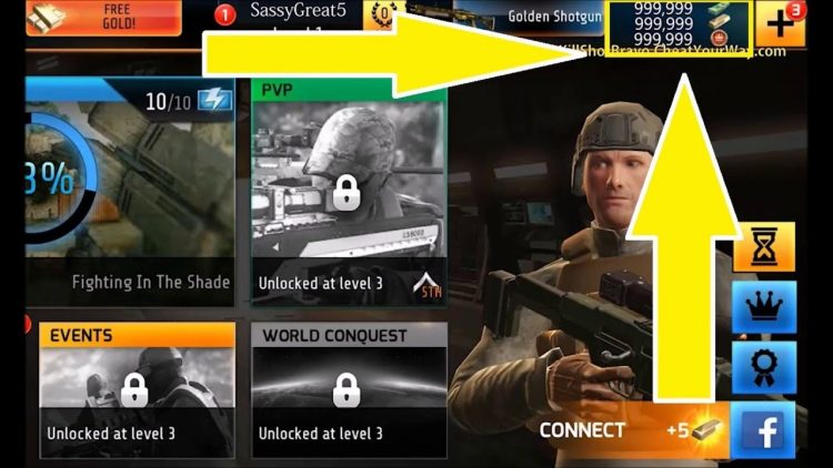 Download Kill Shot Bravo Mod Apk v 5.2 [Unlimited gold]