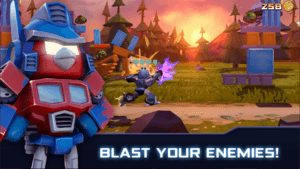 Download Angry Birds Transformers Mod Apk