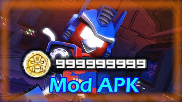 Download Angry Birds Transformers Mod Apk v 1.37.1 [Unlimited Money]