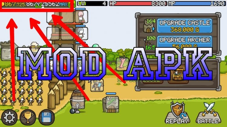 Download Grow Castle Mod Apk v 1.20.9 [Unlimited Coins]