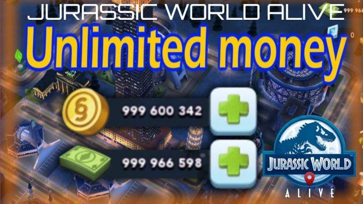 jurassic world hacked apk 2018