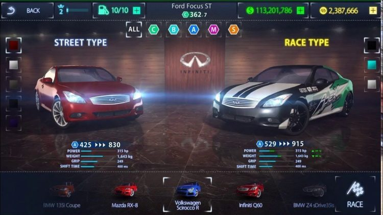 Download Nitro Nation Mod Apk v 6.0.1 [Unlimited money]