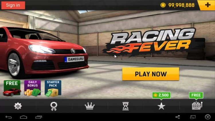 Download Racing Fever Mod Apk v 1.5.18 [Unlimited Coins]