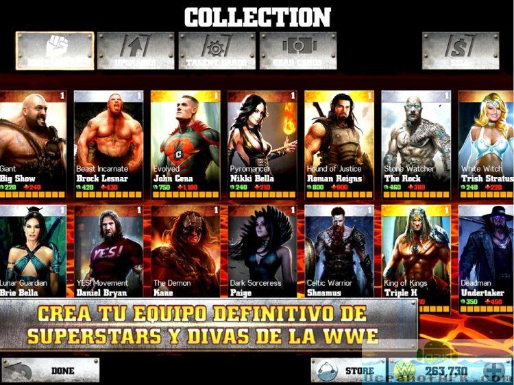 Download WWE Immortals Mod Apk v 2.6.3 [Unlimited Money]